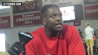 Teradja Mitchell: Ohio State linebacker on his role in defense in second season with Buckeyes