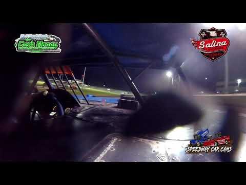 #9 Justin Koch - Cash Money Late Model - 5-1-2021 Slaina Highbanks - In Car Camera - dirt track racing video image
