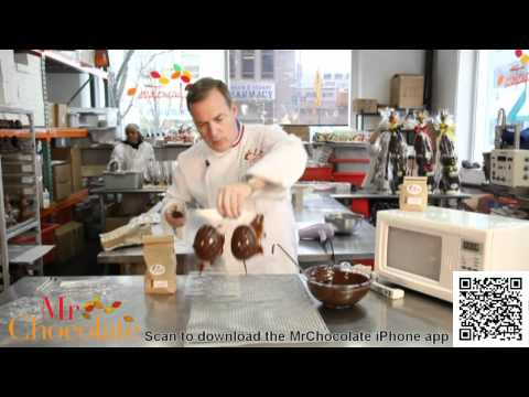 MICROWAVE CHOCOLATE TEMPERING & MOLDING