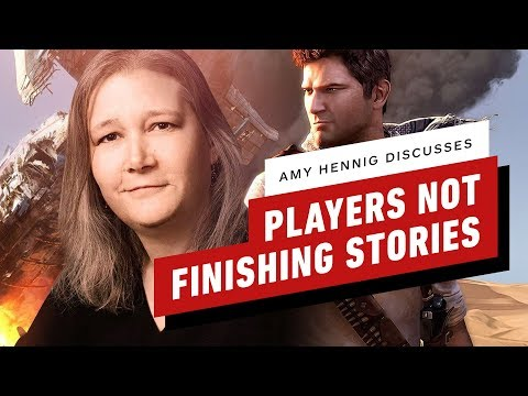 Amy Hennig Explains Industry's Problem With Players Never Finishing Stories - IGN Unfiltered - UCKy1dAqELo0zrOtPkf0eTMw