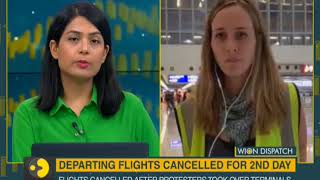 WION Dispatch: Erin Hale, Correspondent on Protest in Hong Kong Airport