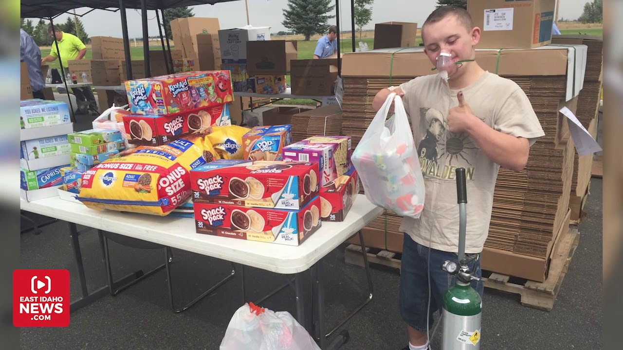 East Idahoans donate over 33,000 pounds of food for Hurricane Harvey victims