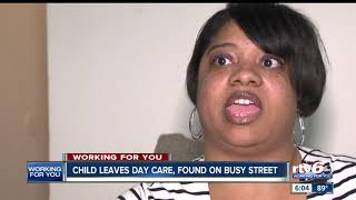 DCS investigating after 2-year-old child left day care, found wandering on busy Indianapolis street