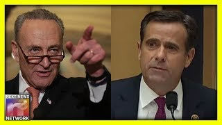 SALTY Schumer Attacks Rep. John Ratcliffe by Comparing Him to General Michael Flynn