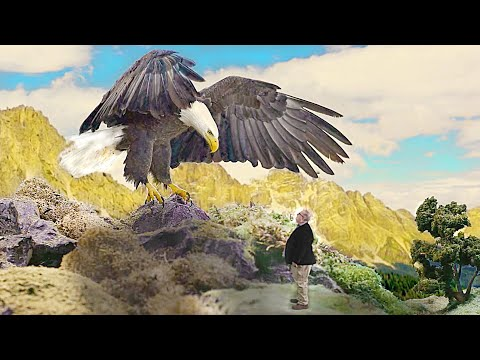 I'm Visiting Heaven & an Eagle Drops This on Me  Sid Roth & Robin McMillan