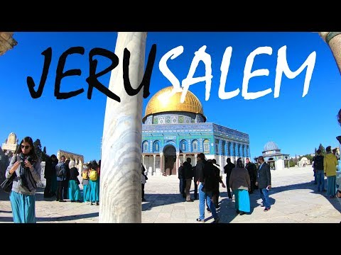 A Tour of the Incredible Old City of Jerusalem - UCgZM50Ig7STDS0l6f_QnrXw