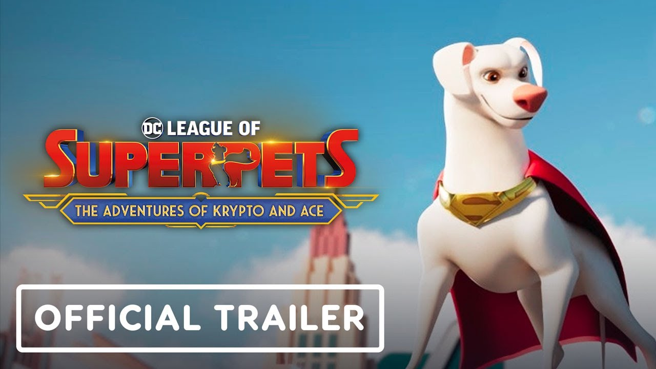 DC League of Superpets: The Adventures of Krypto and Ace – Announcement Trailer | DC Fandome 2021