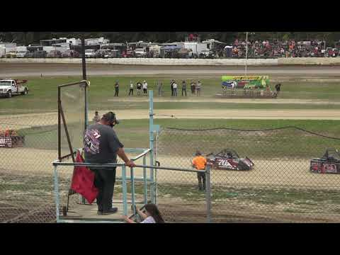 Mini Wedge 10-14 A-Feature at Mid Michigan Raceway Park, Michigan on 10-02-2021! - dirt track racing video image