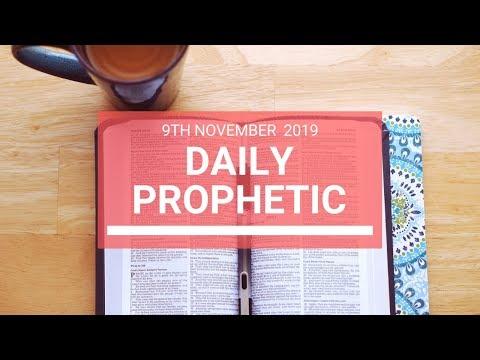Daily Prophetic 9 November Word 6