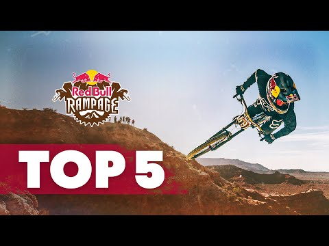The Top Five Runs of 2018 | Red Bull Rampage - UCXqlds5f7B2OOs9vQuevl4A