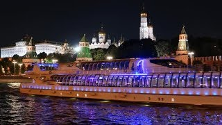 Night View of Moscow Kremlin | Stock Footage - Videohive