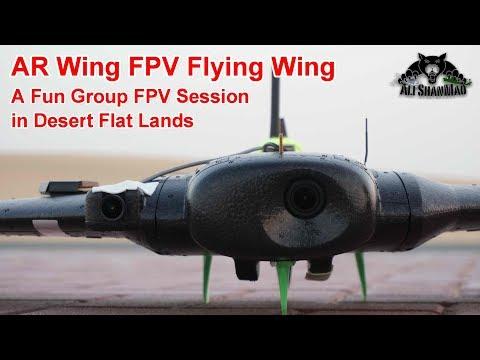 AR Wing FPV Flying Wing A Fun Group FPV Session in Desert - UCr8oc-LOaApCXWLjL7vdsgw