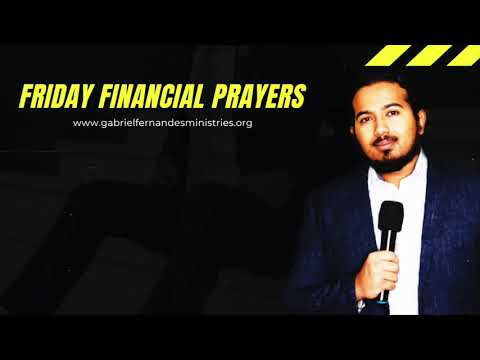 THE ANOINTING FOR SUCCESS & WEALTH, POWERFUL MESSAGE & PRAYER TO BLESS YOU BY EV. GABRIEL FERNANDES