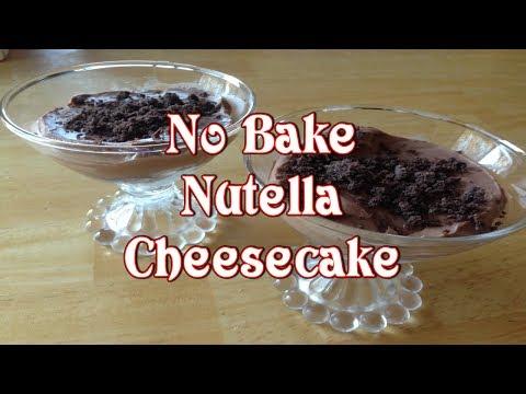 No Bake Nutella Cheesecake - UClV0z2PxVFoz1sG5EhOqDtg