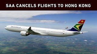 SAA flights between Joburg and Hong Kong cancelled as protests intensify