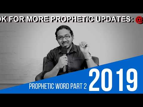 PROPHETIC WORD FOR 2019 PART 2   RESTORATION, Prophecy and Prayers with Evangelist Gabriel Fernandes