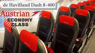 Always Delayed Airline - Austrian Airlines Economy Class, Vienna - Belgrade