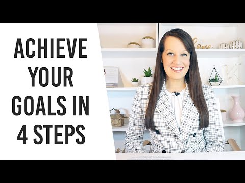 4 steps to Achieve your goals