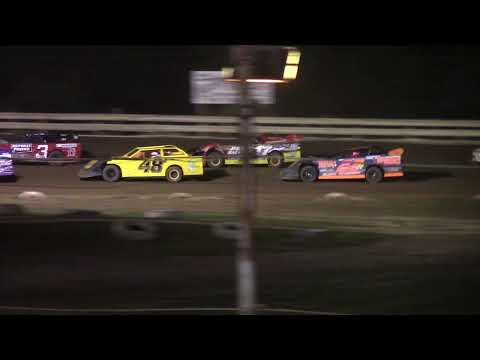 Hummingbird Speedway (8-7-21): Penn Ohio Pro Stock Feature - Ina's Memorial Shootout - dirt track racing video image