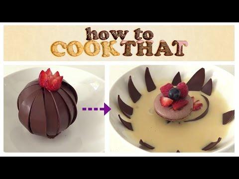 MAGIC CHOCOLATE FLOWER DESSERT How To Cook That Ann Reardon - UCsP7Bpw36J666Fct5M8u-ZA