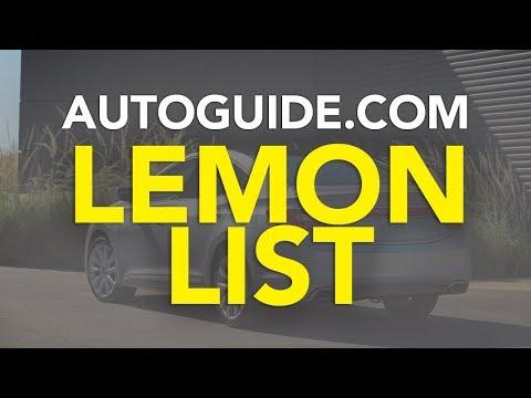 The Lemon List: Top 10 Brands with the Most Lemon Complaints in AutoGuide Forums - UCV1nIfOSlGhELGvQkr8SUGQ