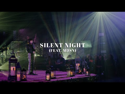 David & Nicole Binion - Silent Night Feat. MDSN (Official Live Video)