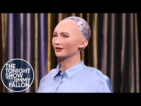 Tonight Showbotics: Jimmy Meets Sophia the Human-Like Robot - UC8-Th83bH_thdKZDJCrn88g