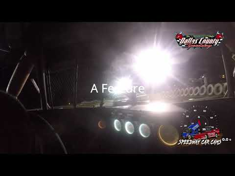 #12 Christopher Sawyer - Usra Stock Car - 8-13-2021 Dallas County Speedway - In Car Camera - dirt track racing video image