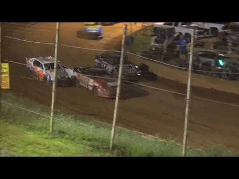 MMSA at Winder Barrow Speedway July 31st 2021 - dirt track racing video image