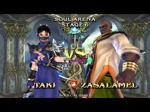 Soul Calibur 3 (PS2) walkthrough - Taki - UCb7ElR0N_nIIu_Ojx56TR_A