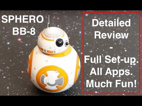 Sphero BB-8 - Detailed play-test Review + Unboxing, Set-up, Fun + Tips for Sphero BB8 - UC1itkXgauC74rZhf1rxosHA