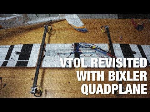 VTOL Revisited - Bixler 3 QuadPlane - UC_LDtFt-RADAdI8zIW_ecbg