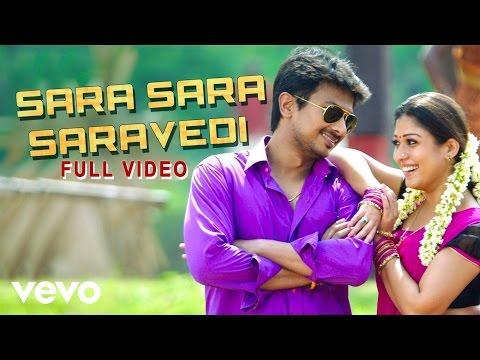 Sara Sara Saravedi Video | Udhayanidhi Stalin, Nayanthara | Harris Jayaraj - UCTNtRdBAiZtHP9w7JinzfUg