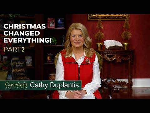 Voice of the Covenant Bible Study, December 2020 Week 2  Cathy Duplantis
