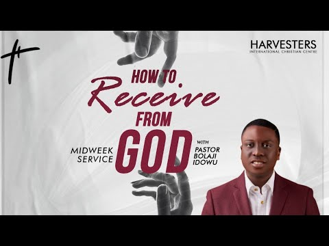 How To Receive From God   Pst Bolaji Idowu  3rd March 2021
