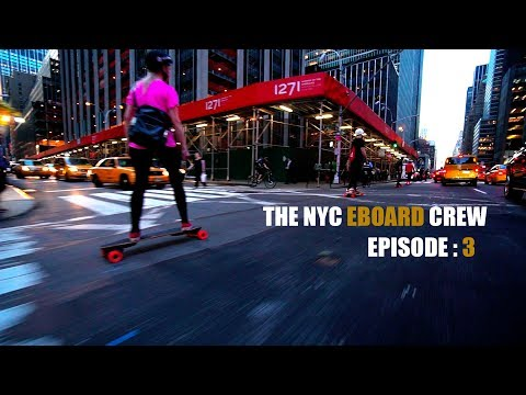 The NYC Electric Skateboard Crew Episode 3 - The Boosted Board Meet up - UCfF_-FNlLHME_NLR2tKYEfw