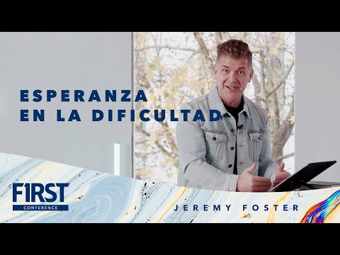 First Conference I Jeremy Foster Enero 3