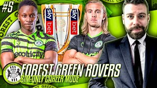 LEAGUE CHAMPIONS?!? SUMMER TRANSFERS! BABY ZLATAN?! - Forest Green SIMULATION CAREER MODE #5
