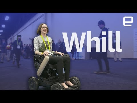 Whill smart wheelchair hands-on at CES 2018 - UC-6OW5aJYBFM33zXQlBKPNA