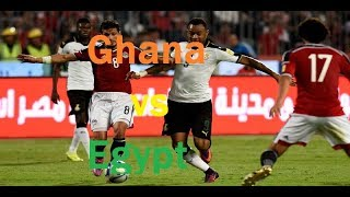 Ghana vs Egypt Highlights Football Match