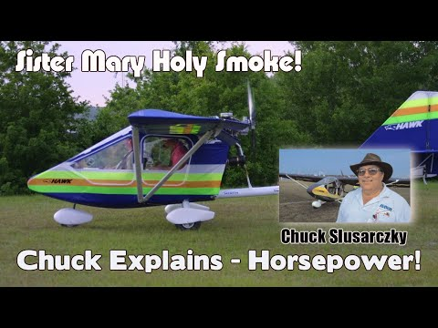 Sister Mary Holy Smoke, Chuck Slusarczyk, CGS Hawk, on Horsepower at the B.U.G. Safety Seminar 2004.