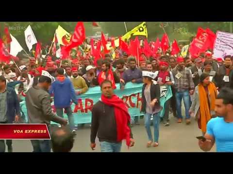 Giới trẻ Ấn biểu tình chống thất nghiệp (VOA)