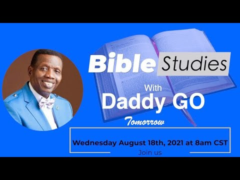PASTOR E.A ADEBOYE TEACHING  RCCG NA CONVENTION  BIBLE STUDIES