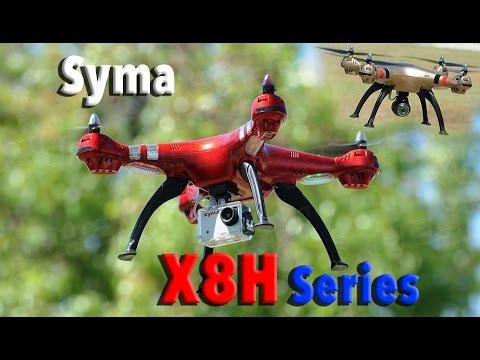 SYMA X8HC X8HG X8HW Auto Altitude Hovering RC Quadcopter Drone Series - UCH6MbLEKxUPKK3y2uBreqDA