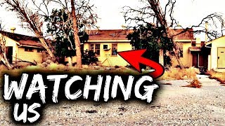 Someone Was Watching Us at a Scary Abandoned Building: Abandoned Military Base :Abandoned California