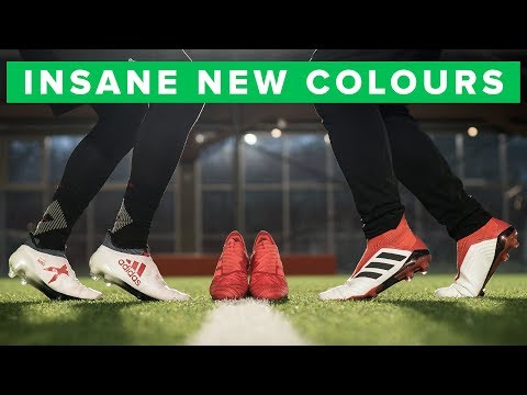 e7587749 adidas Cold Blooded Play Test & Challenge - sick colours for Pogba & Suarez