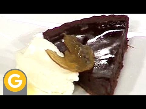 Carta De Postres - Tarta de chocolate y jengibre con salsa de café - UC1Lhubbf3BjYODUrugx-oeA