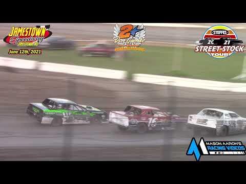 Jamestown Speedway Steffes WISSOTA Street Stock Tour A-Main (Gumke Racers' Memorial) (6/12/21) - dirt track racing video image