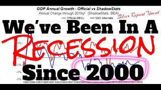 We're Already In A Recession We Have Been Since 2000
