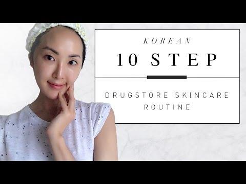 Korean 10 Step Drugstore Skincare Routine | Chriselle Lim - UCZpNX5RWFt1lx_pYMVq8-9g